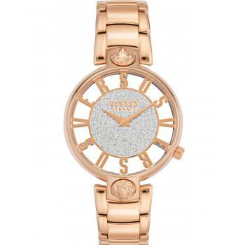 VERSACE Versus Kirstenhof - VSP491519,  Rose Gold case with Stainless Steel Bracelet