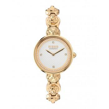 VERSACE Versus South Bay Crystals - VSPZU0621,  Gold case with Stainless Steel Bracelet