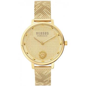 VERSACE Versus Villette - VSP1S1520,  Gold case with Stainless Steel Bracelet