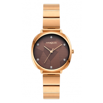 VOGUE Audrey - 814451  Rose Gold case with Stainless Steel Bracelet