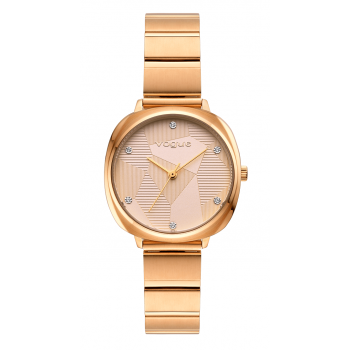 VOGUE Audrey - 814452  Rose Gold case with Stainless Steel Bracelet