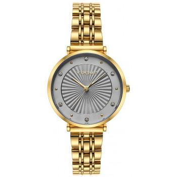 VOGUE Bliss Crystals - 815343  Gold case with Stainless Steel Bracelet