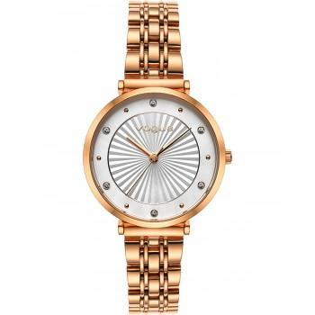 VOGUE Bliss Crystals - 815351  Rose Gold case with Stainless Steel Bracelet