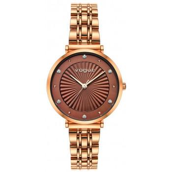 VOGUE Bliss Crystals - 815353  Rose Gold case with Stainless Steel Bracelet