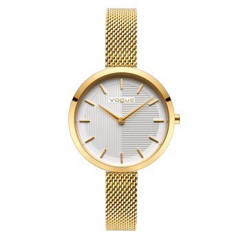 VOGUE Scarlet - 814941 Gold case with Stainless Steel Bracelet