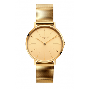 VOGUE Vanessa - 814742  Gold case with Stainless Steel Bracelet