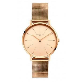 VOGUE Vanessa - 814751  Rose Gold case with Stainless Steel Bracelet
